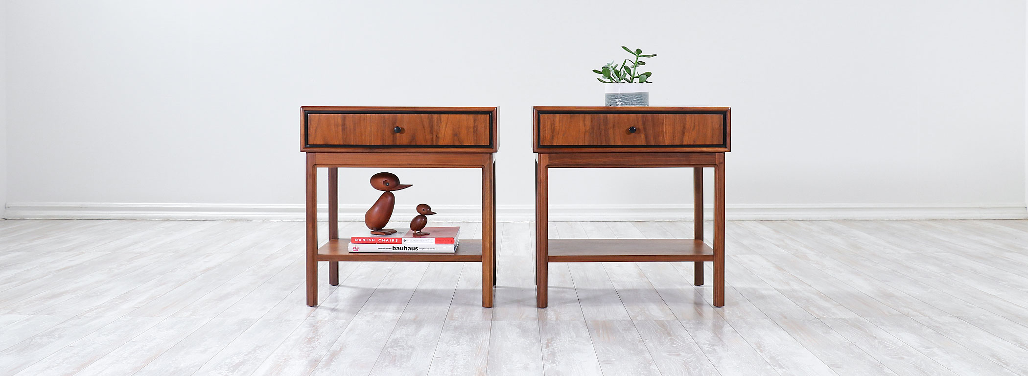 Jack Cartwright Two-Tier Night Stands for Founders Co. Image