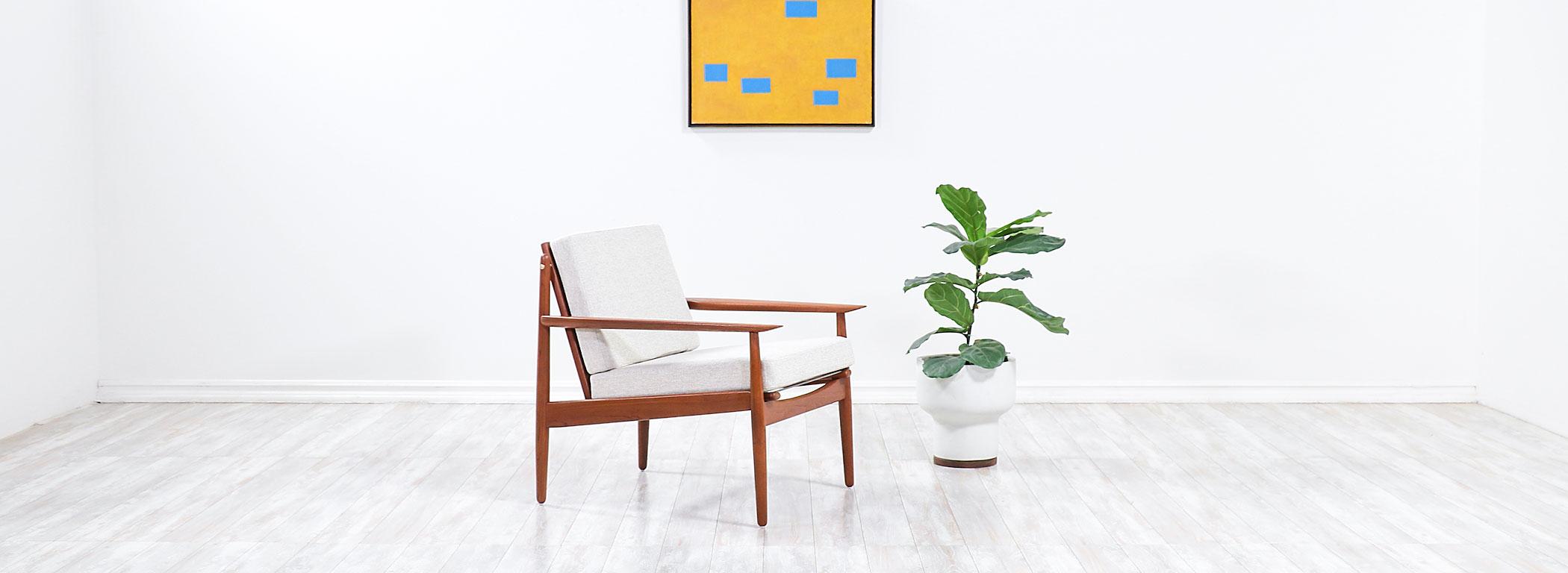 Svend Age Eriksen Teak Lounge Chair for Glostrup Møbelfabrik  Image